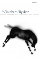 The Southern Review cover showing blurry image of a horse