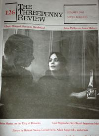 The Threepenny Review cover showing man and woman with 7-Up bottle