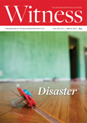 Witness, disaster – cover
