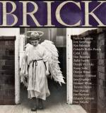 Brick cover showing  B/W photo of person in white robe with wings