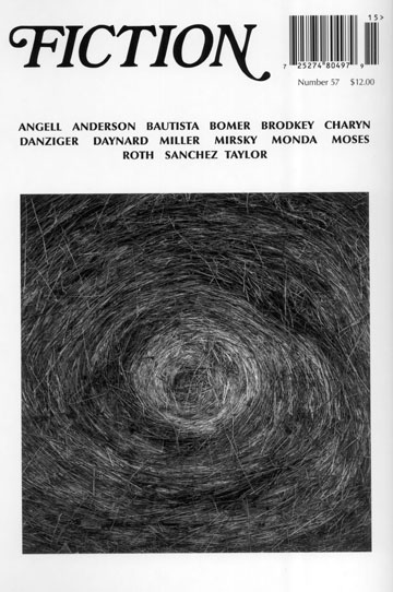 Fiction cover showing black and white  semi-concentric elliptical shapes
