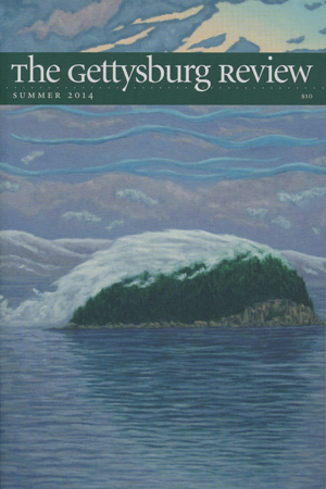 The Gettysburg Review with cover showing Impressionist type artwork perhaps showing a pastel mountain scape with a pastel body of water in front