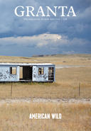 Granta American Wild  photo cover showing apparently abandoned structure surrounded by golden fields and a gray sky
