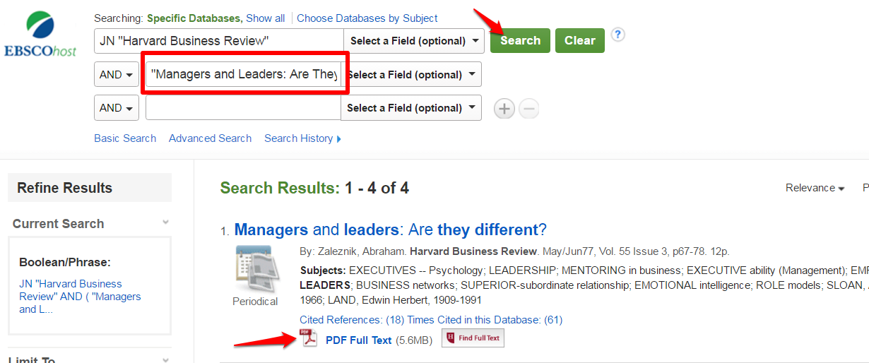 HBR Title Search