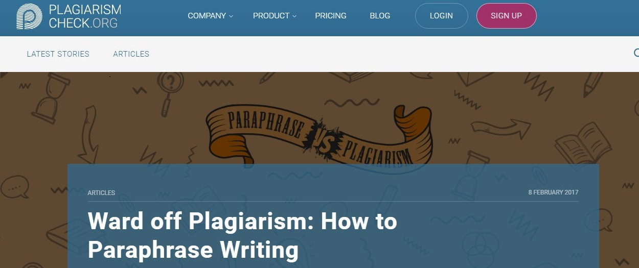 plagiarism check org how to paraphrase research guides at link to plagiarism check org