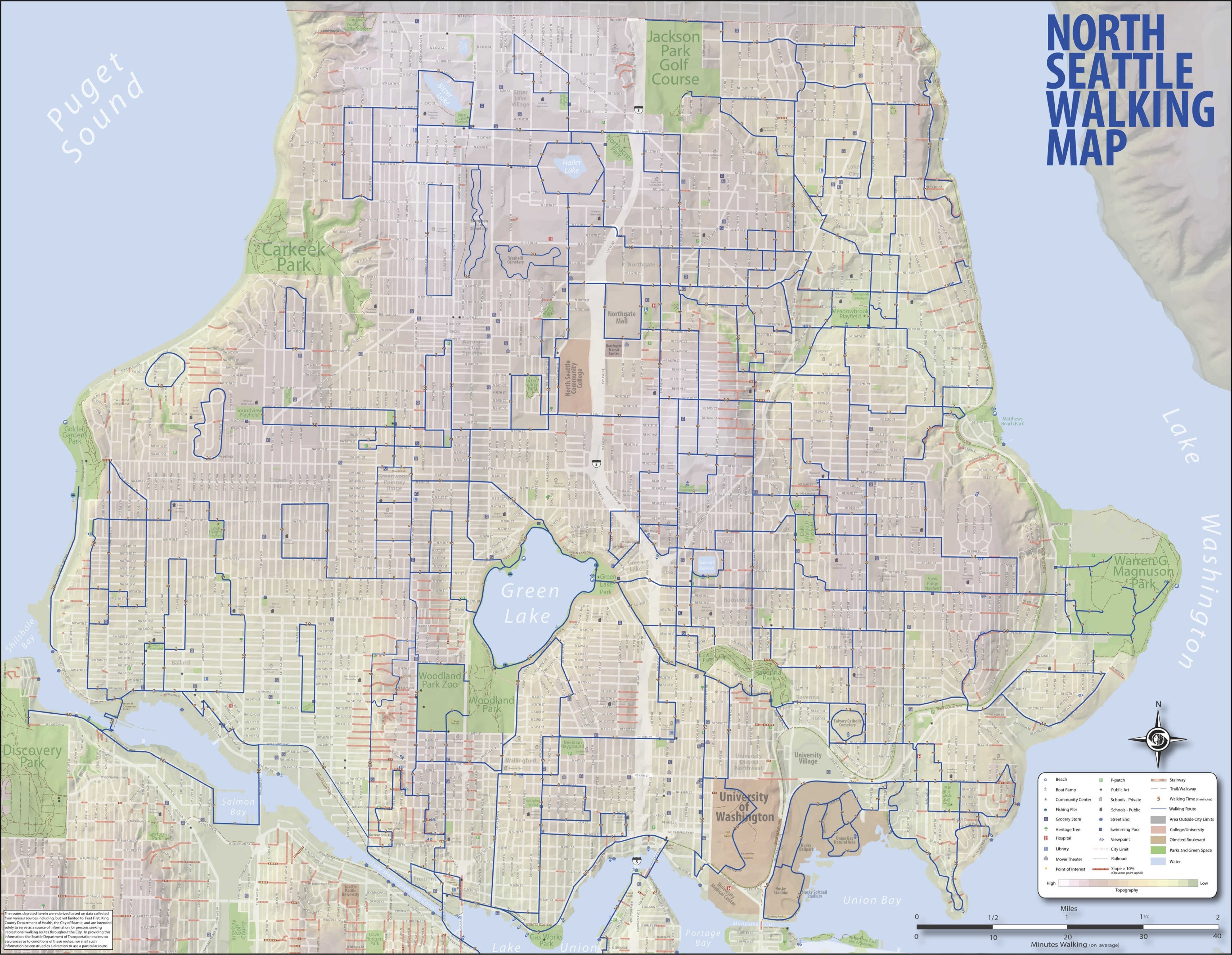 Map of Seattle A Newcomers Guide to Seattle LibGuides for