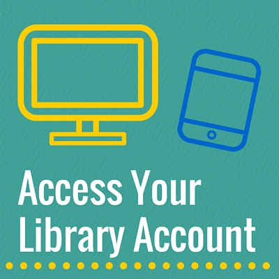 Access a library account picture
