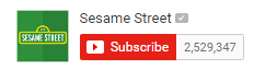 Screenshot of username from YouTube