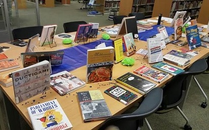 Open House Book Display