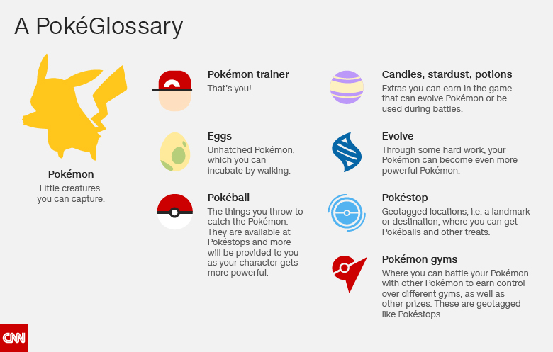 A PokeGlossary from CNN