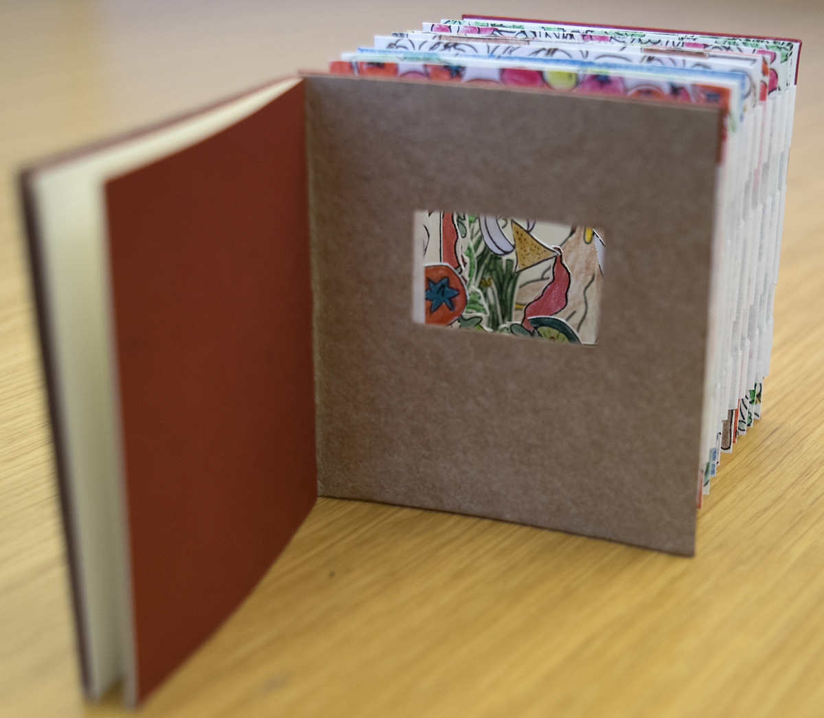 "Image of the artist book ""Salsa."""
