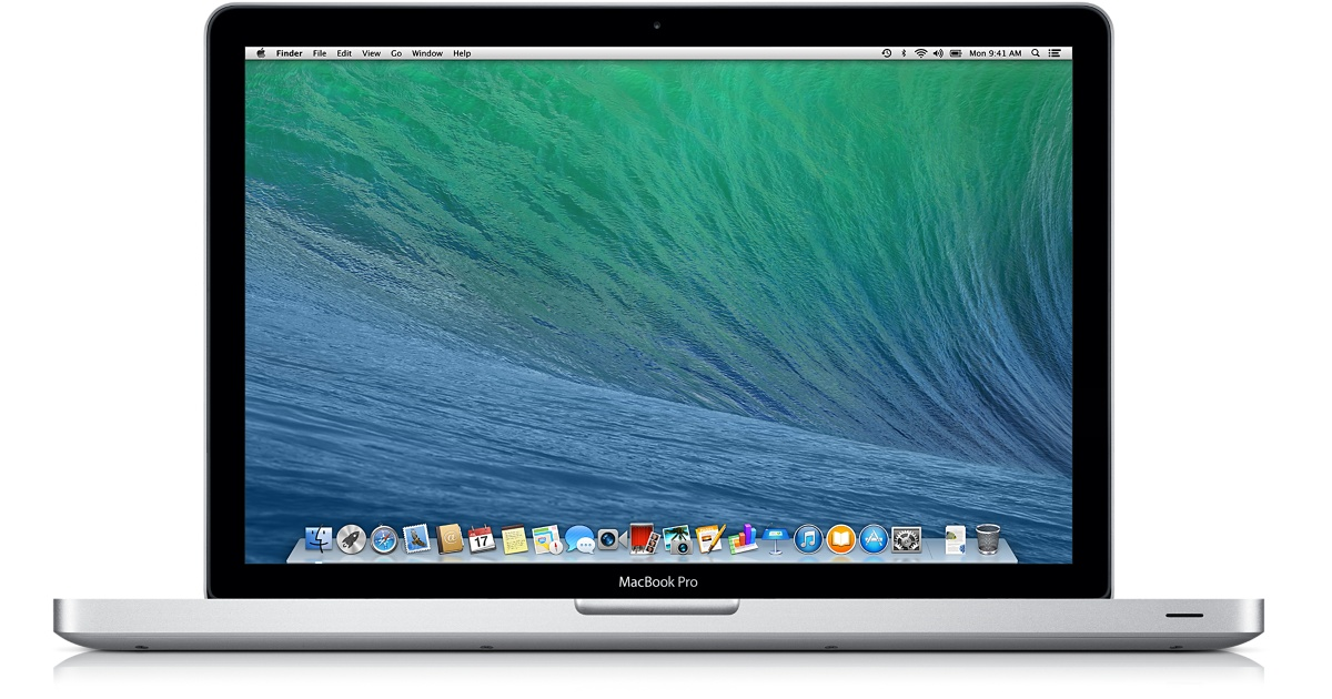 Photo of Macbook Pro that is available for checkout. Information about equipment follows the image.
