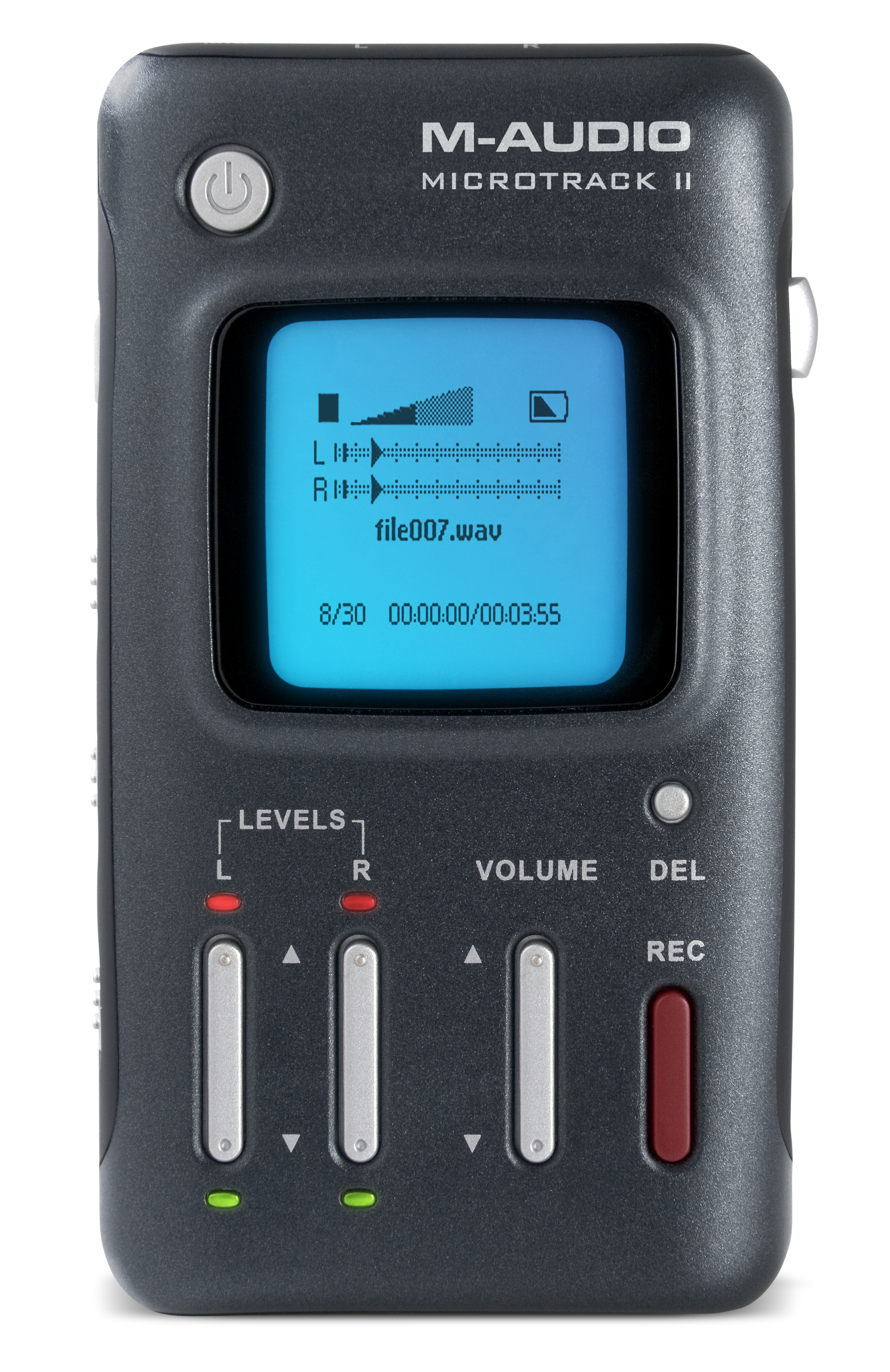 Image of M-Audio Microtrack II digital recorder available for checkout.