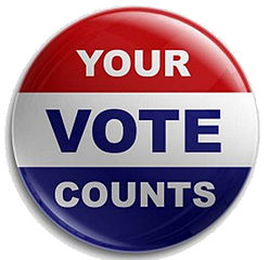 vote badge image