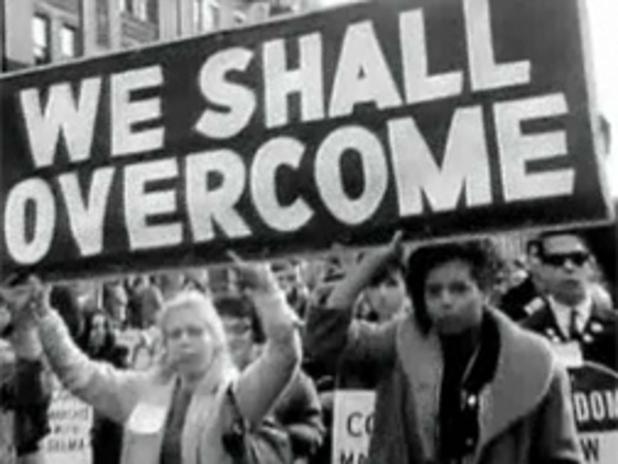 Civil Rights Movement protest photo