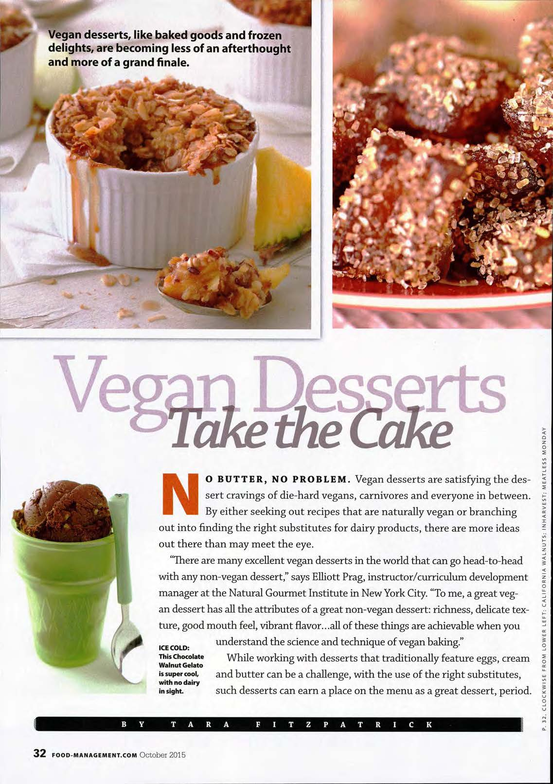 Magazine articles vegan baking libguides for library schools at food management forumfinder Choice Image