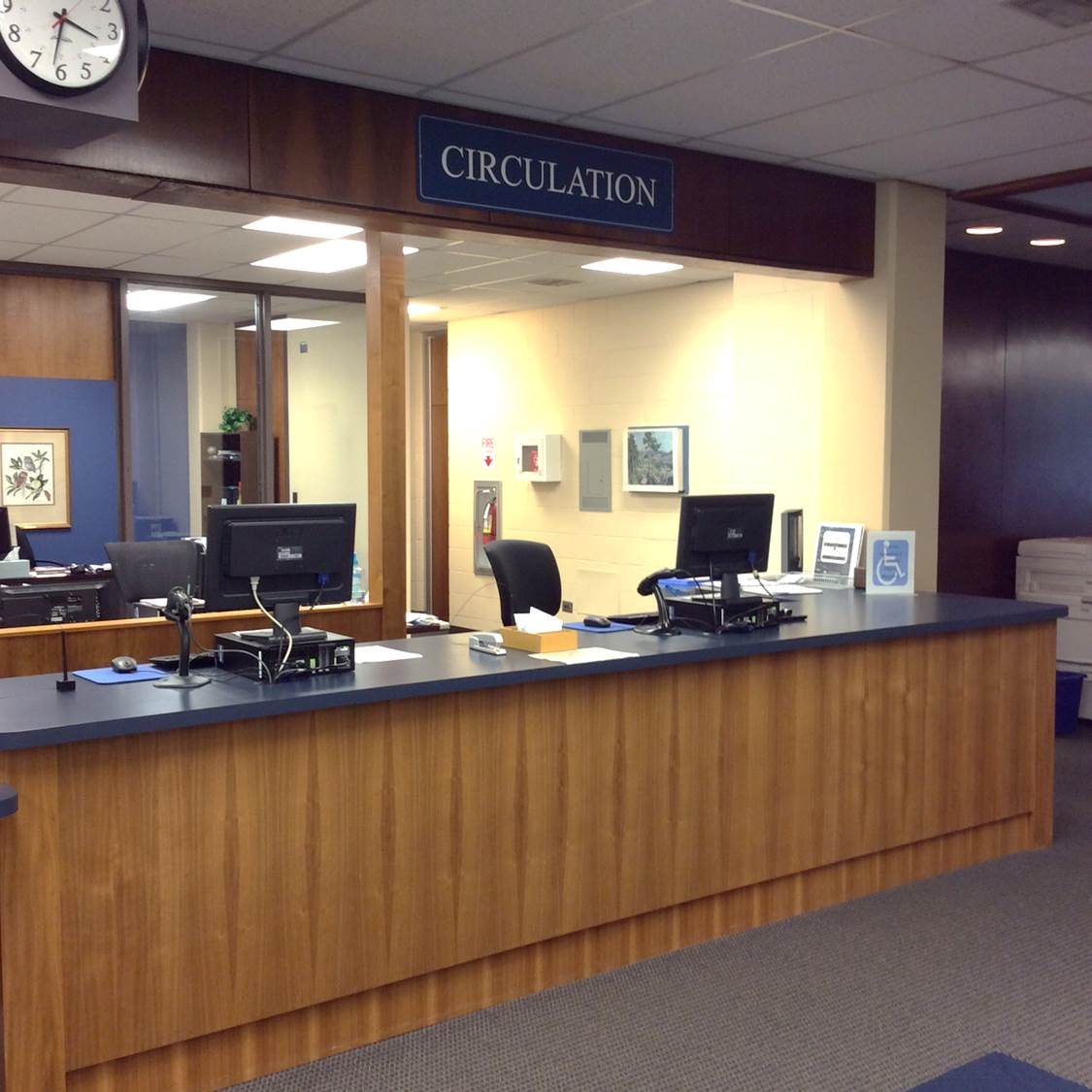 Photo of The Circulation Desk