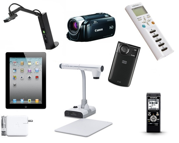 images of various digital equipment