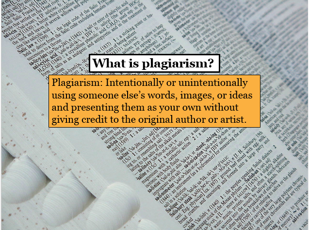 Understanding plagiarism video title page