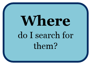Click here to find out where to search for primary research articles