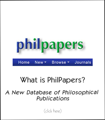 Philpapers logo with words