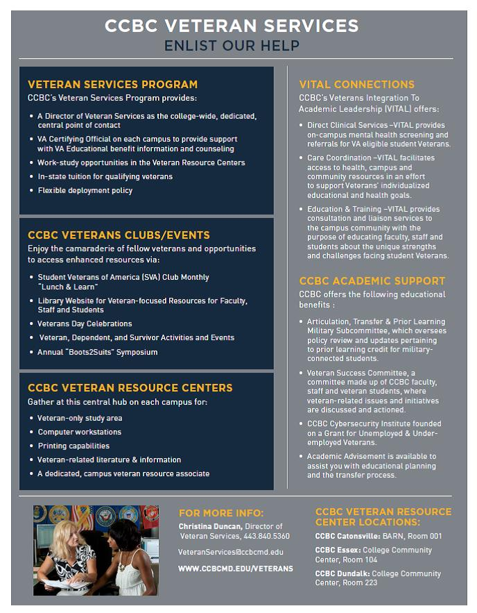 Veteran Services @ CCBC - Veterans - Research Guides at
