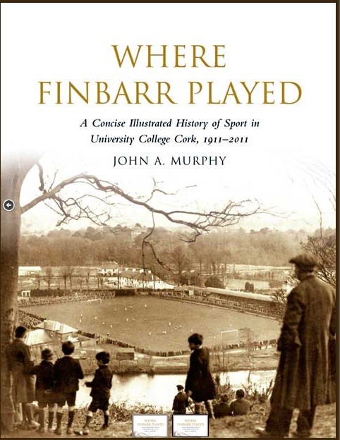 Cover to Where Finbarr Played.