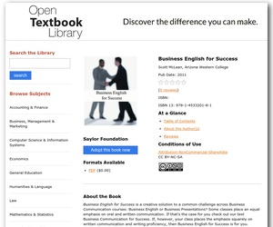Business English for Success textbook