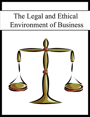 The Legal and Ethical Environment of Business textbook cover image