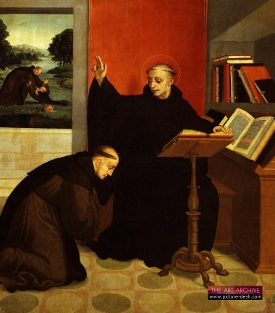 Painting of St. Benedict
