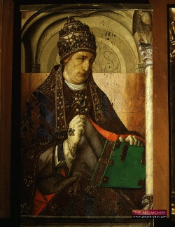 Painting of Pope Gregory the Great