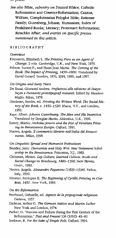 Example of a bibliography