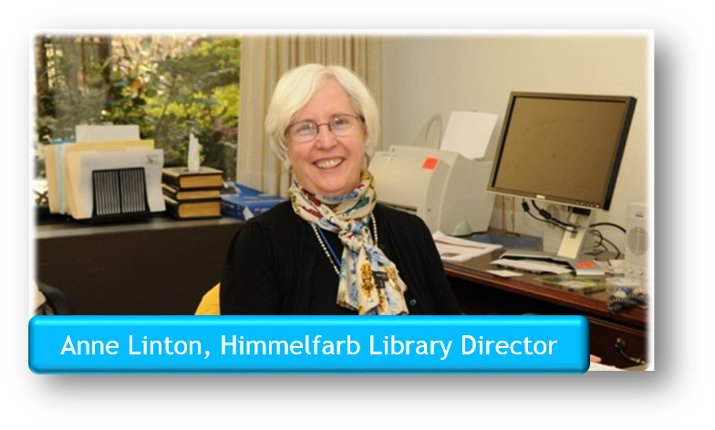 Anne Linton, Himmelfarb Library Director