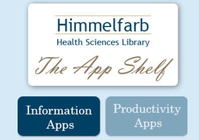 Himmelfarb Library App Shelf