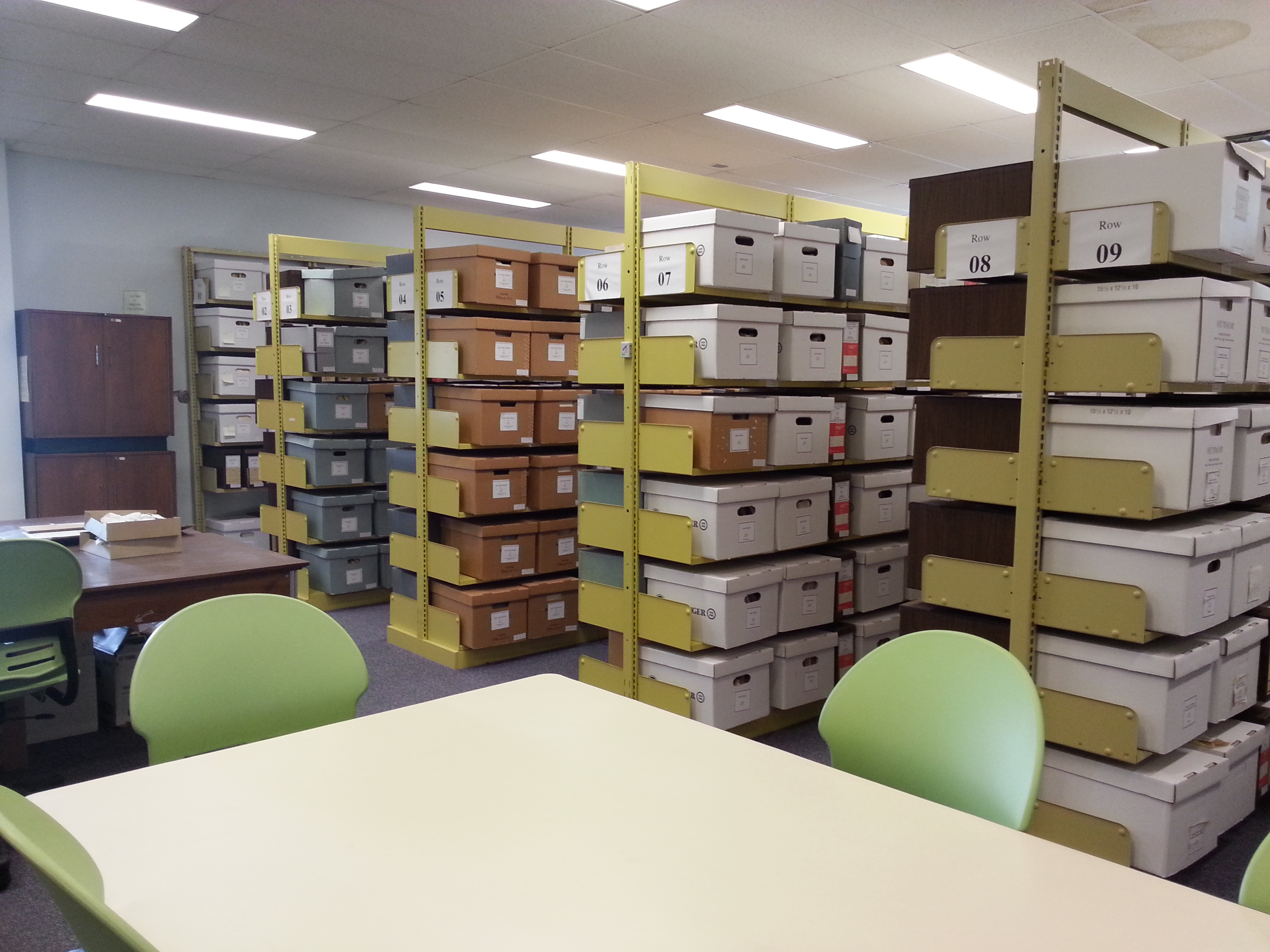Archives room, LI5001