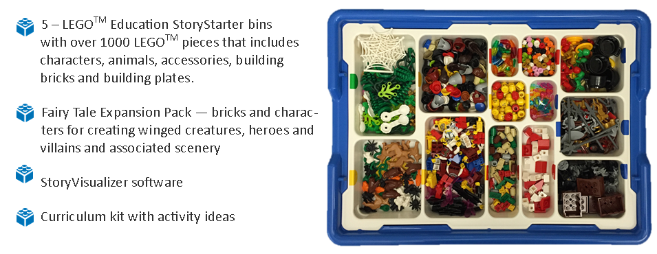 lego story starter kit contents