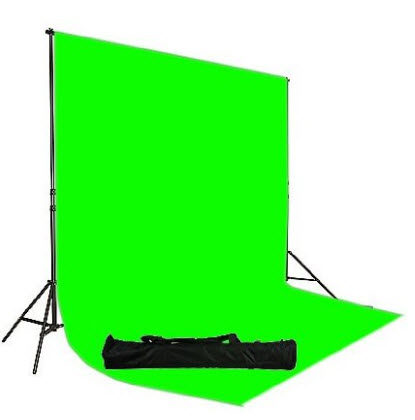green screen sheet