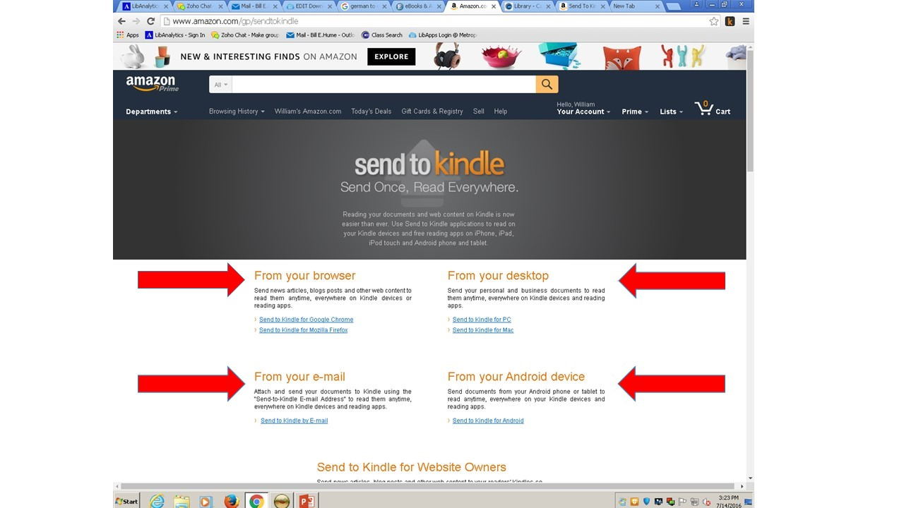 Downloading to a Kindle Device - MCC - Electronic Books