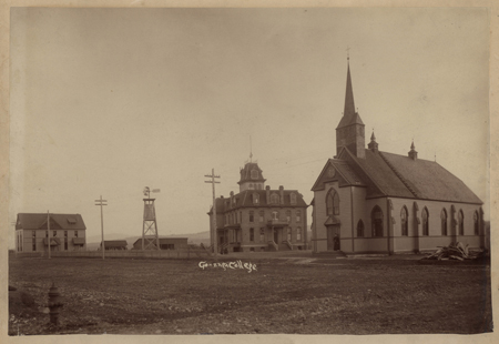 Early photo of Gonzaga