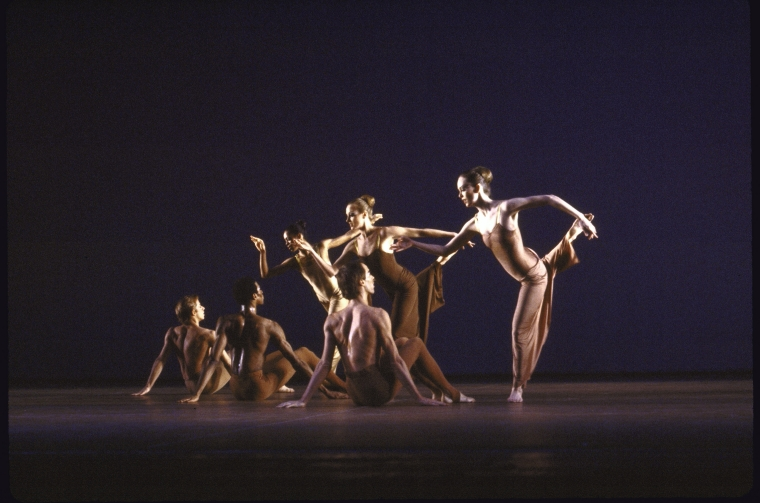 "Billy Rose Theatre Division, The New York Public Library. ""Martha Graham Dance Company in a Martha Graham production of ""Diversion of Angels"" (New York)"" The New York Public Library Digital Collections. 1980."