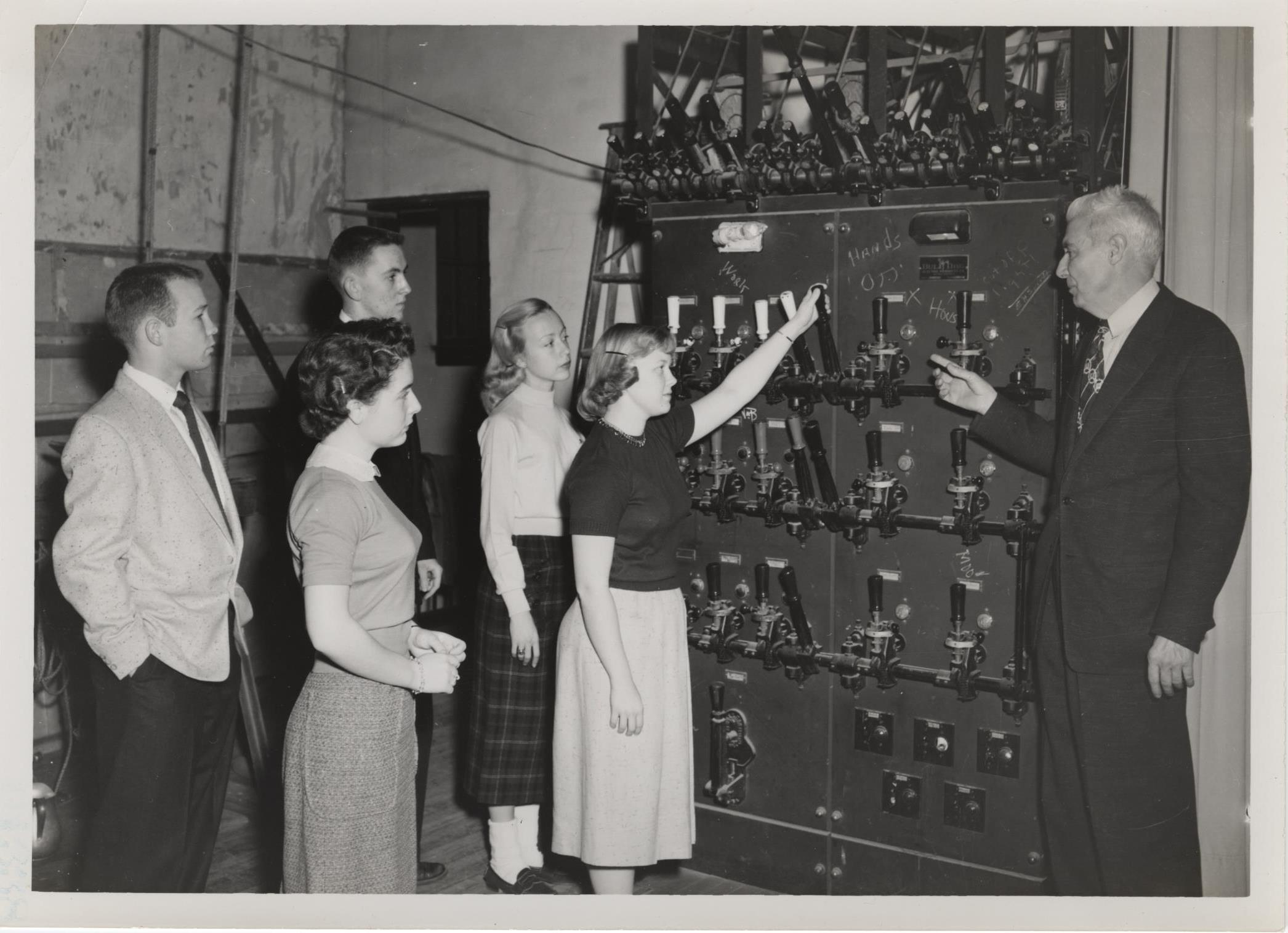 Drama Department, 1956