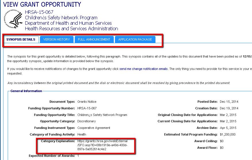 Finding Federal Funding - UCOL Leadership/Organization