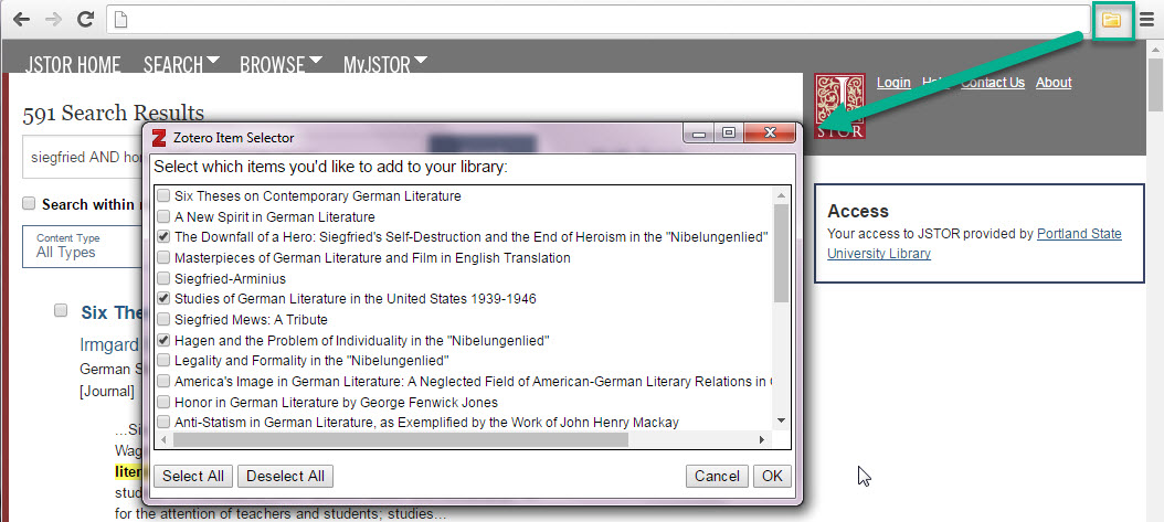 Zotero manage citations with zotero mendeley and endnote menu with option to import multiple citations ccuart Images