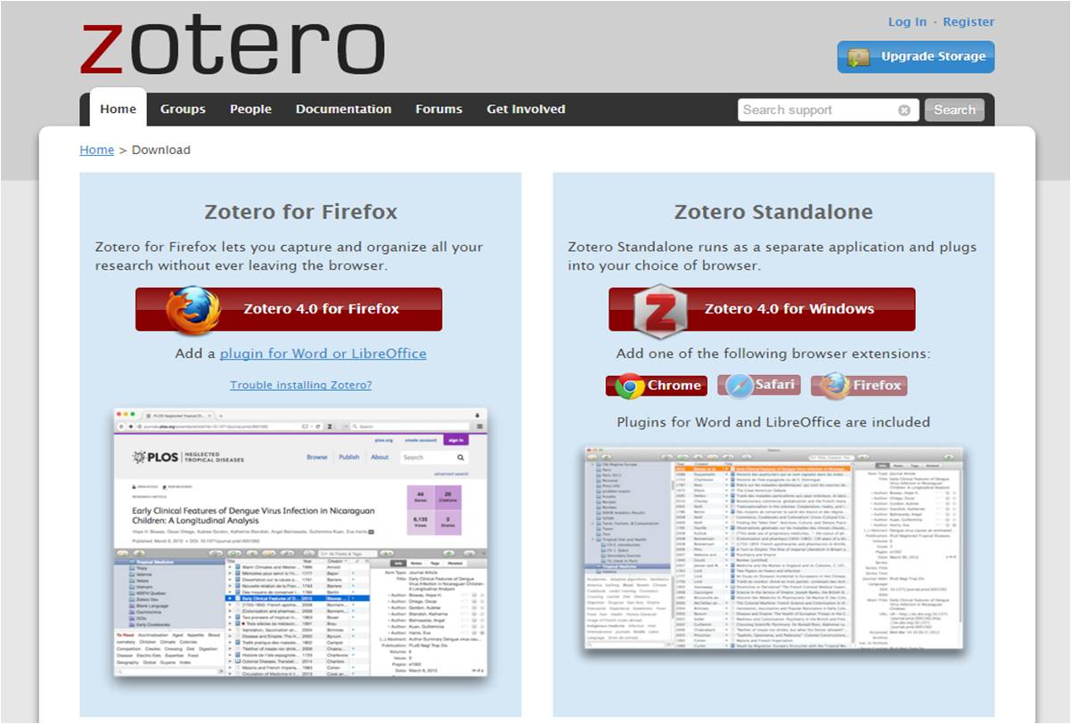 Both Versions Of Zotero And The Connector Files Can Be Downloaded From  Zotero You Can Also Sign Up For A Free Zotero Account To Sync Your  References