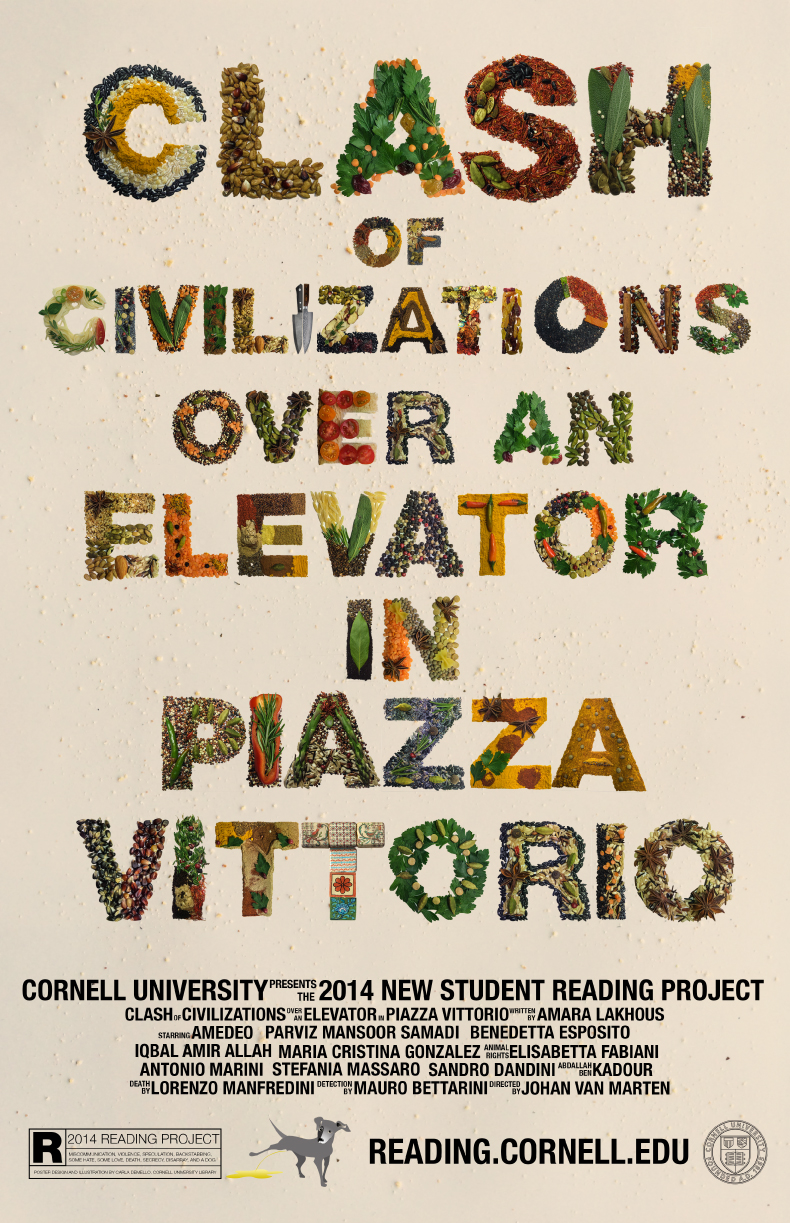 poster for <em>Clash of Civilizations Over an Elevator in Piazza Vittorio</em>