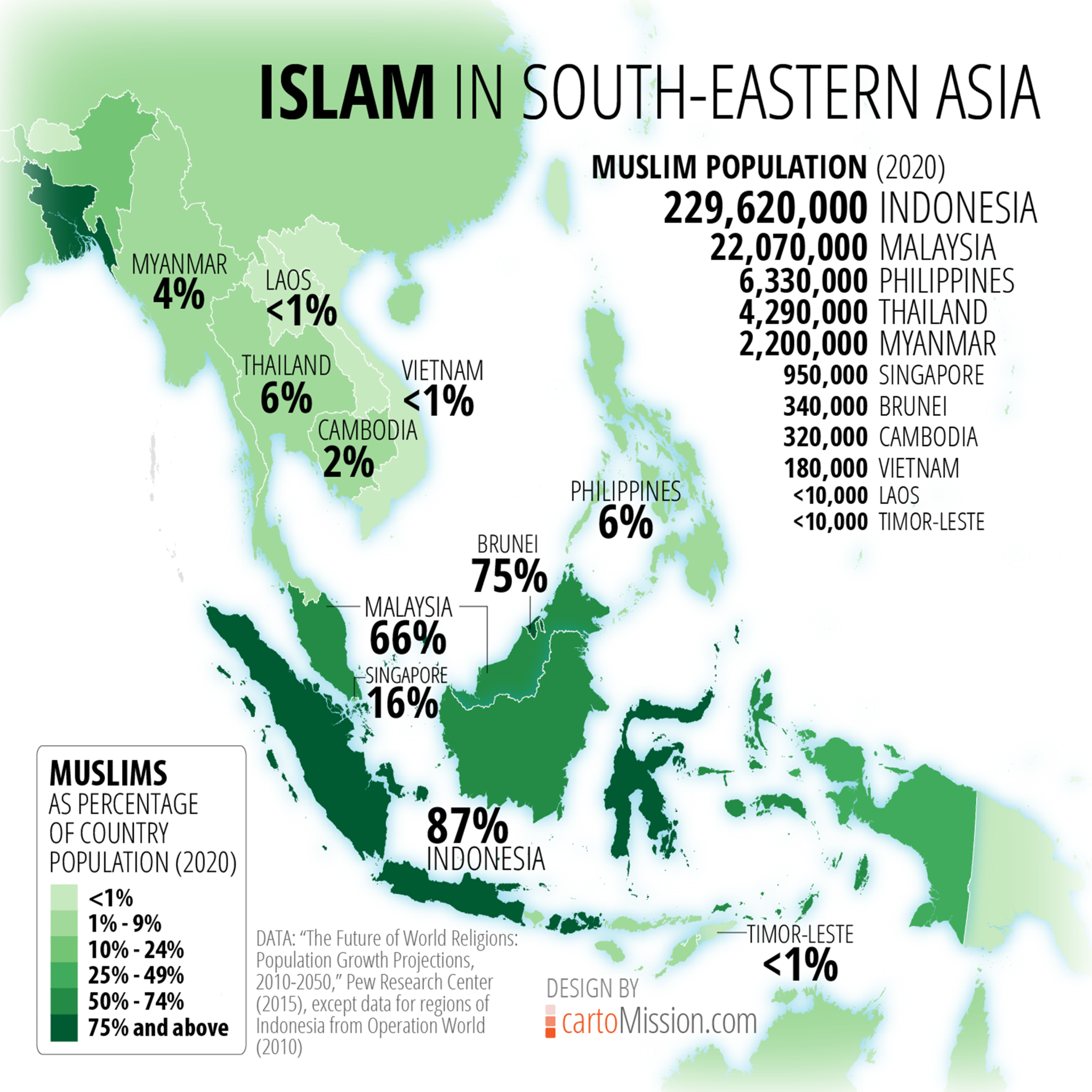 Religious Map Of Asia.Islam In Southeast Asia Exhibition Islam In Asia Diversity In