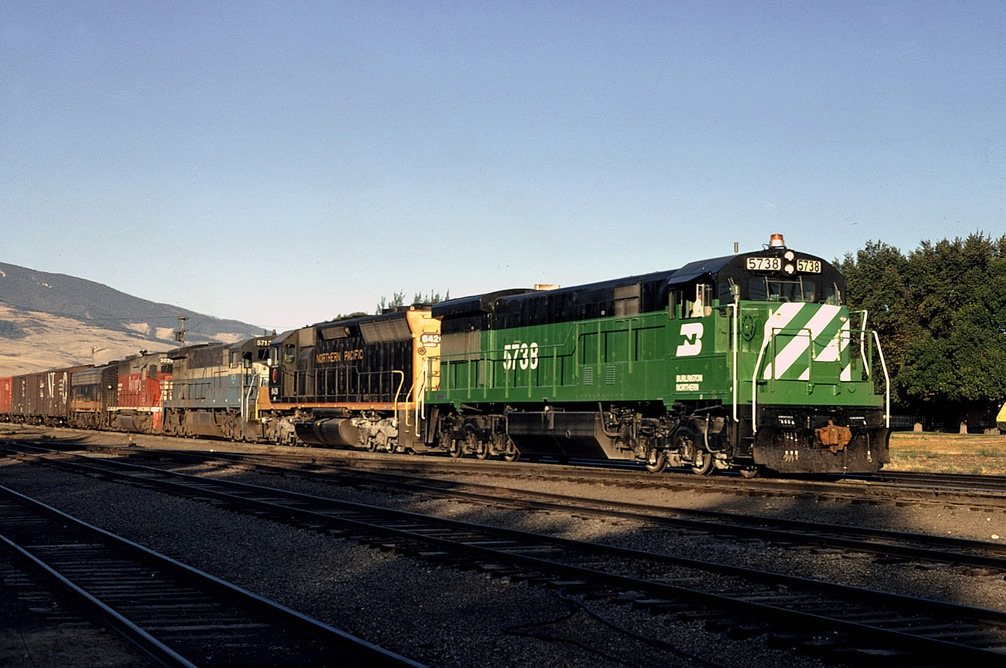 A Matter of Merger: The Birth of The Burlington Northern ...