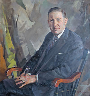 Portrait by William F. Draper