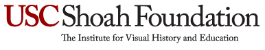 USC Shoah Foundation, The  Institute for Visual History and Education