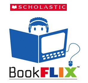 Scholastic Book Flix logo